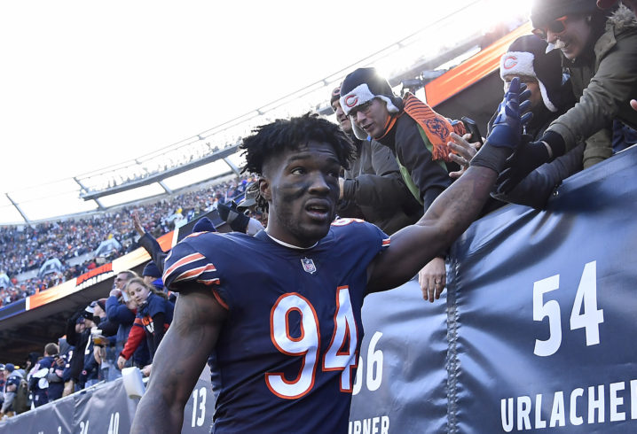 22af380260f Bears planning to keep Leonard Floyd around, pick up fifth-year option on  linebacker