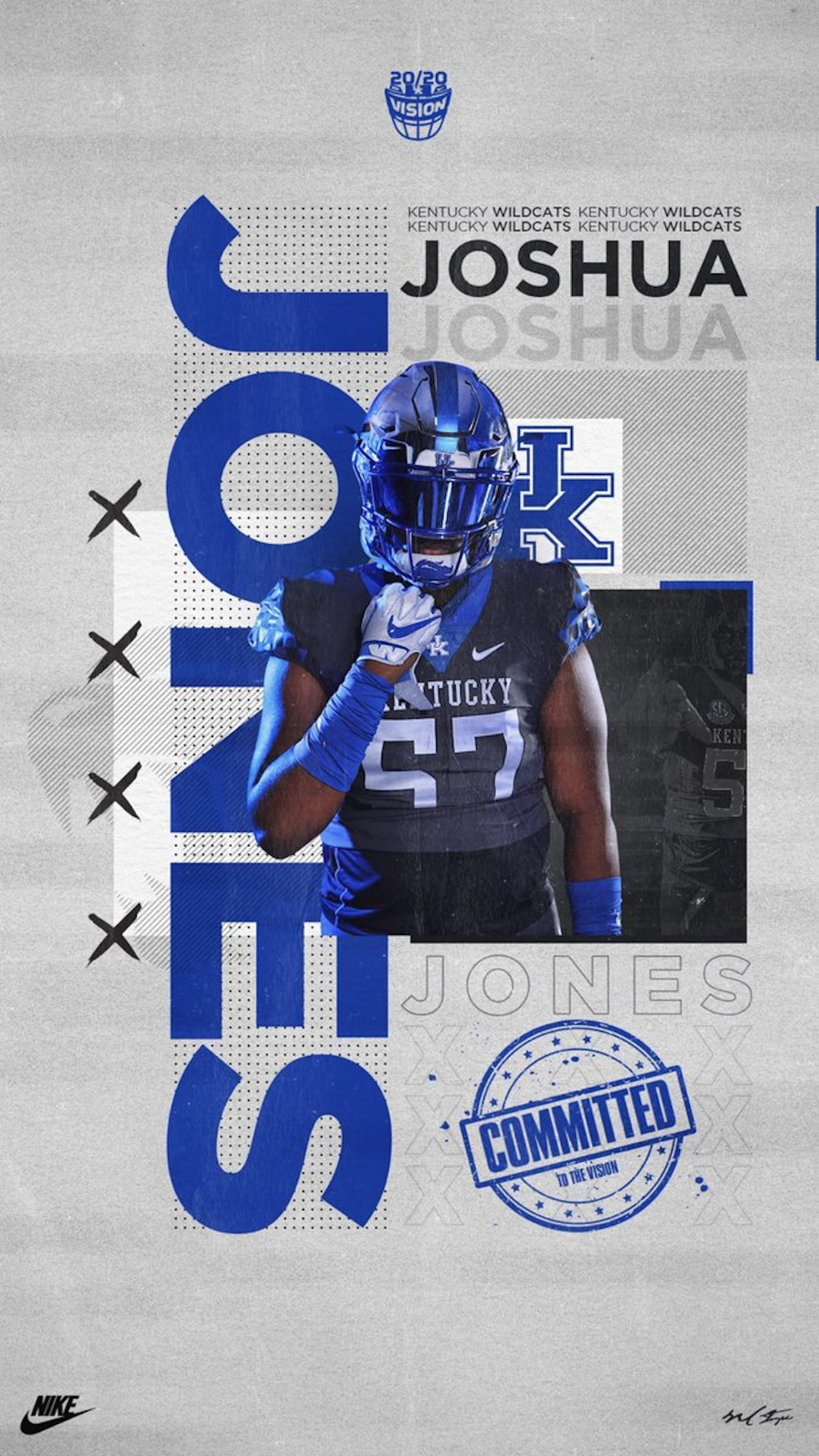 new style 7f73c 683df Kentucky picks up commitment from Alabama OT