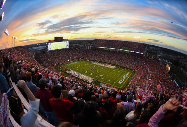 sec football stadiums by capacity in 2018