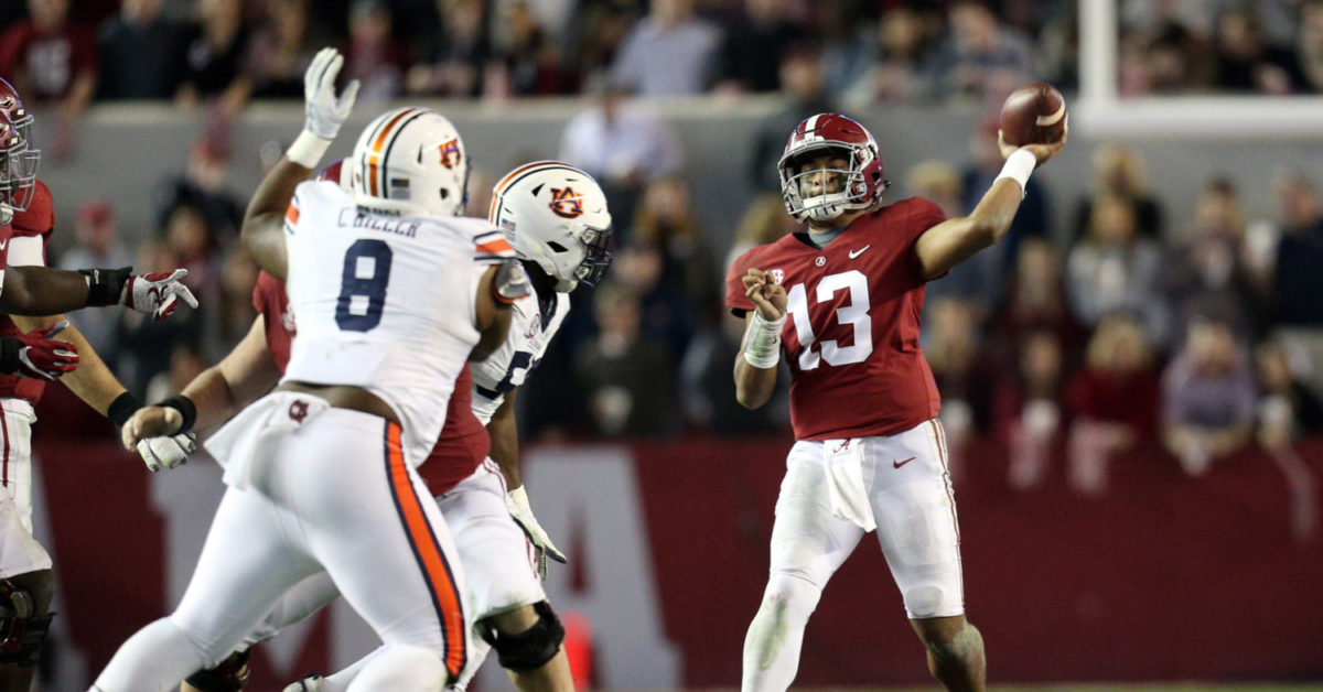 Alabama vs. Auburn: Which offense is better in 2019?
