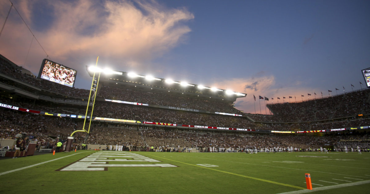 How much are Texas A&M vs. Auburn tickets at Kyle Field on 9/21/19?