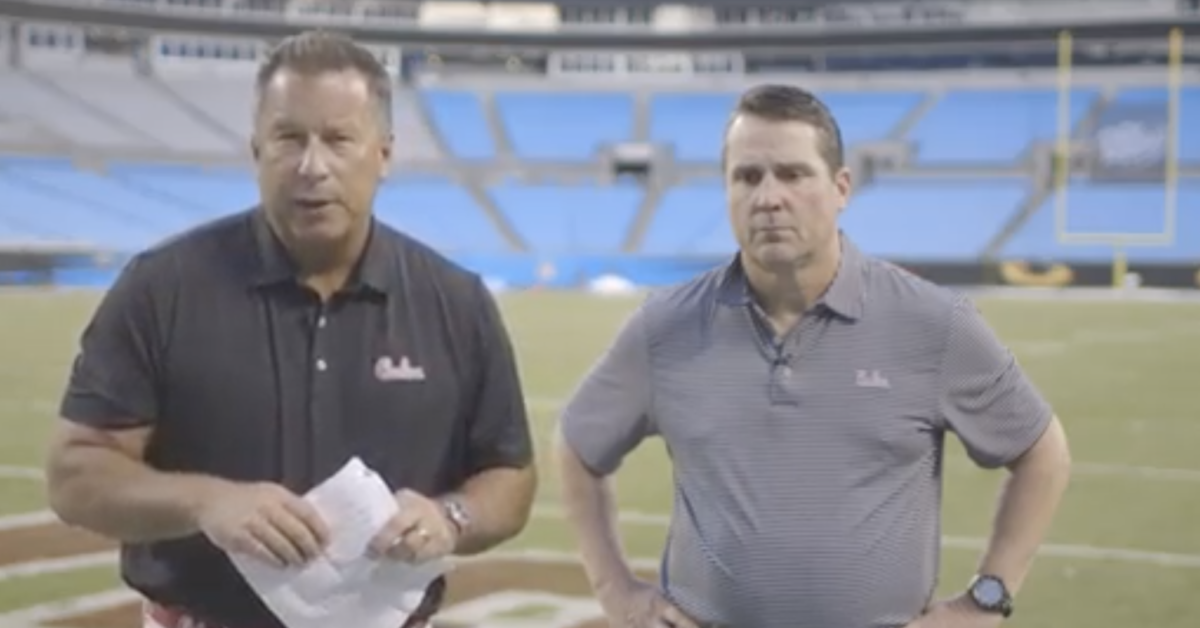 WATCH: Will Muschamp gives awkward post-game breakdown ...