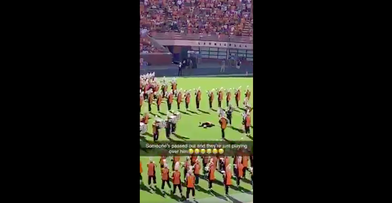 Video emerges from Tennessee band member who passed out