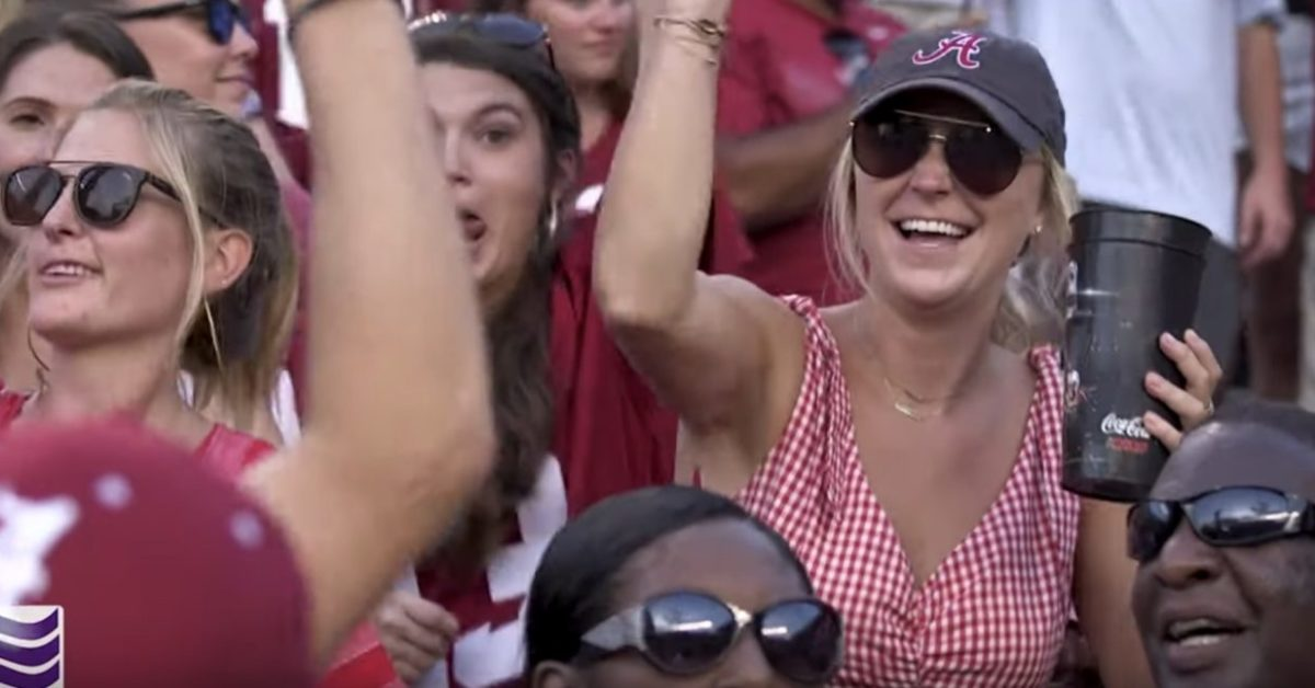 WATCH: Alabama fans sing Rammer Jammer after dominant win at South Carolina