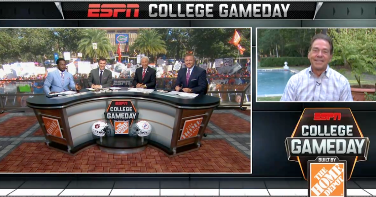 Everything Nick Saban said during special College GameDay appearance