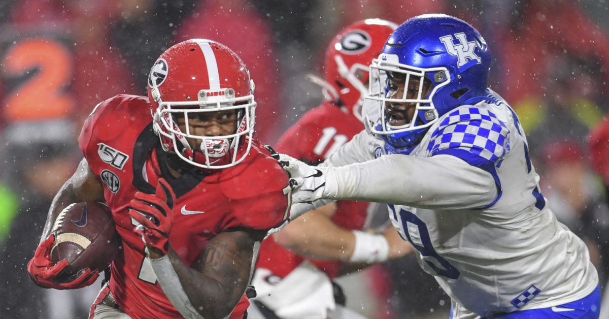 ESPN FPI predicts outcome of the Georgia at Kentucky game