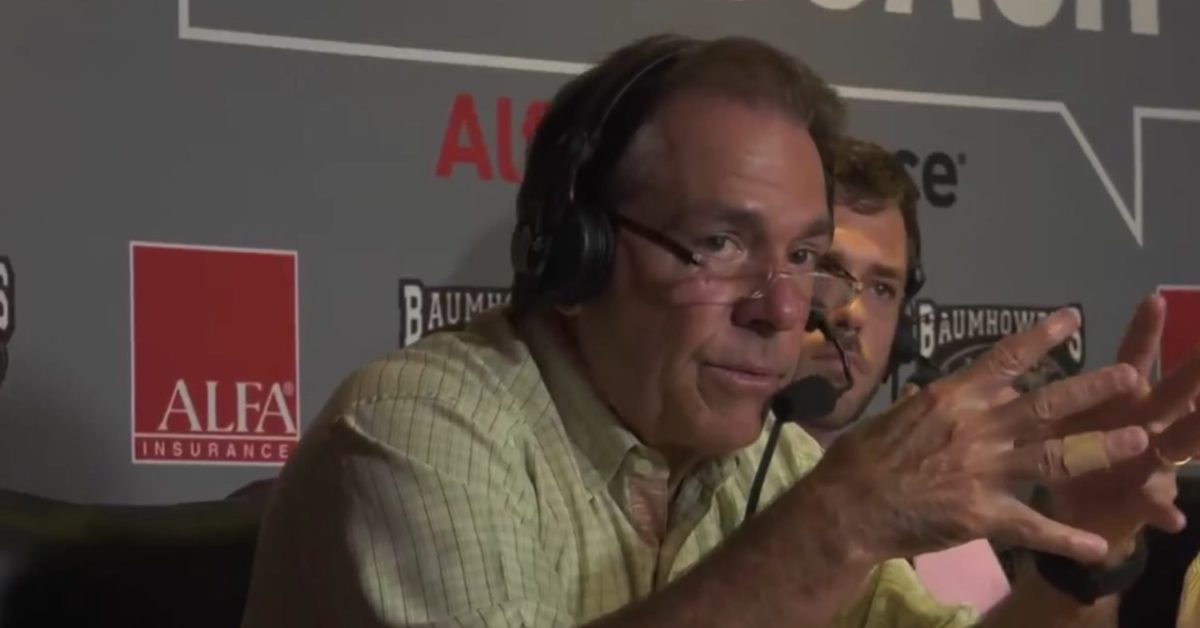 Nick Saban confirms changes to Alabama's starting offensive line