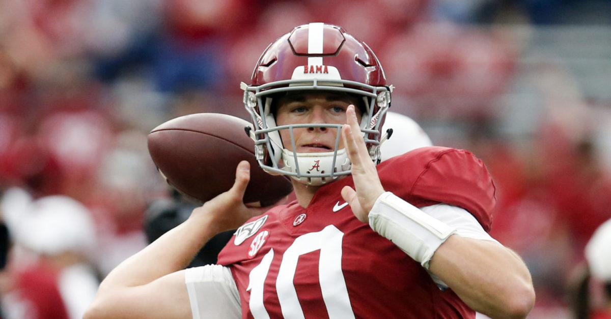 Breathe easy, Tide Nation, Alabama isn't buried yet in Playoff race - Saturday Down South