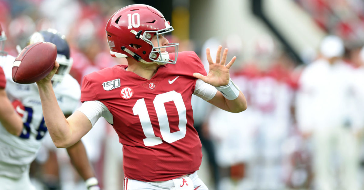 Tim Tebow says Alabama QB Mac Jones can be 'one of the best players in the SEC' in 2020