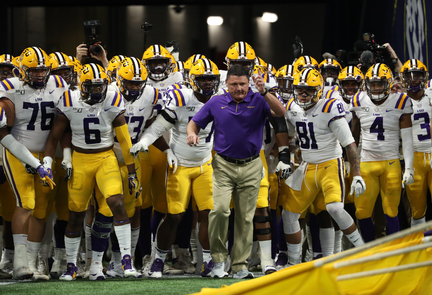 Lsu Football 5 Ways The Tigers Will Measure Success In 2020