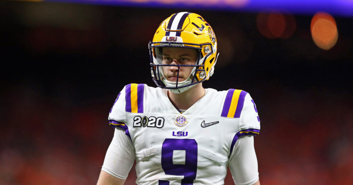 Should LSU retire Joe Burrow's No. 9? It's a no-brainer