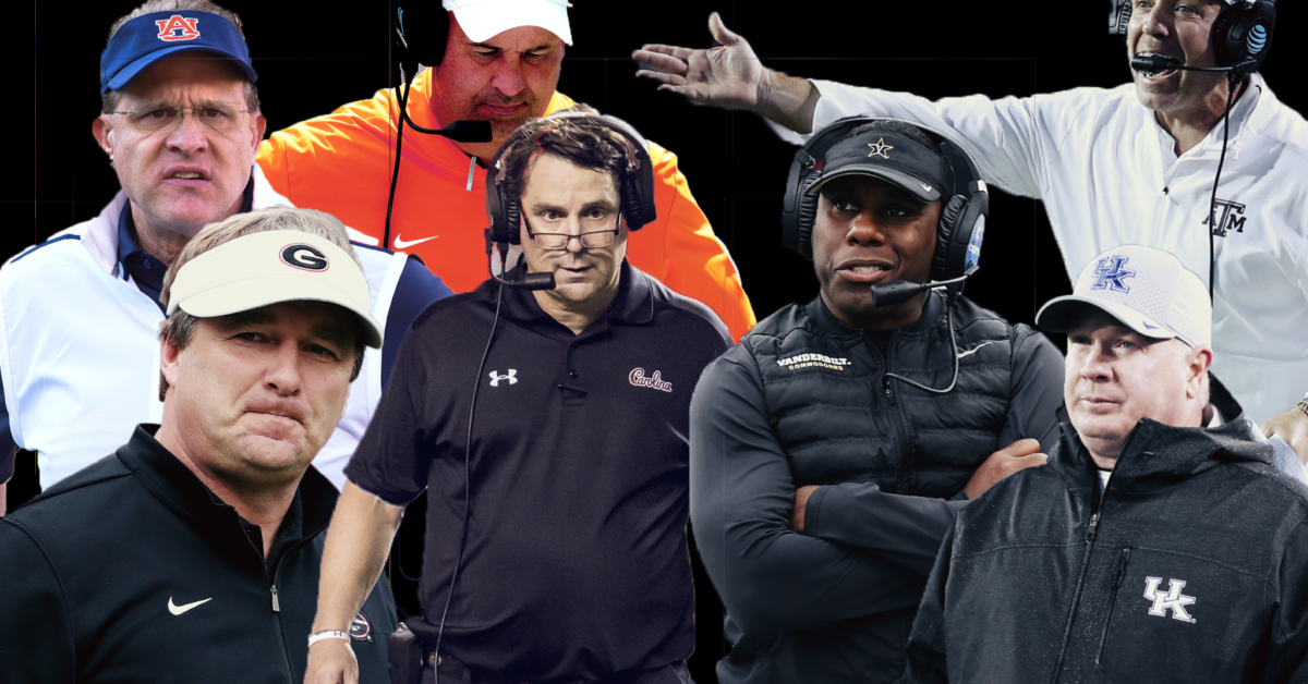 SEC hot seat rankings entering the 2020 season