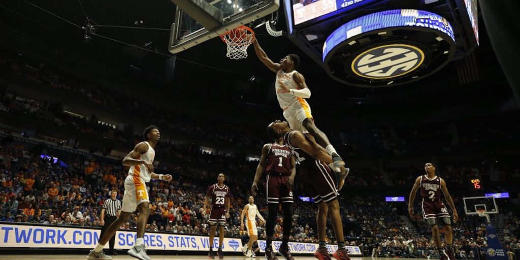 Rapid Reaction Tennessee Dunks On Mississippi State Sets