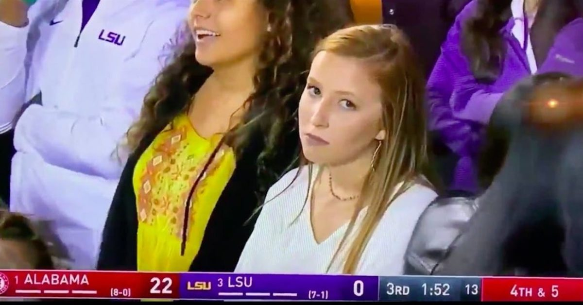 Viral memes football from LSU years recent