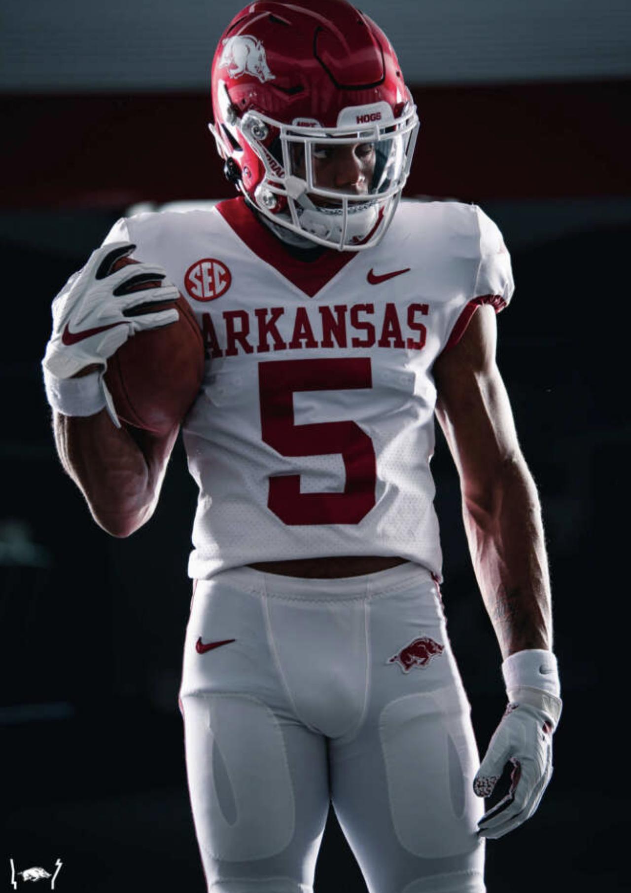 Arkansas Razorbacks reveal new jerseys for the 2020 football season