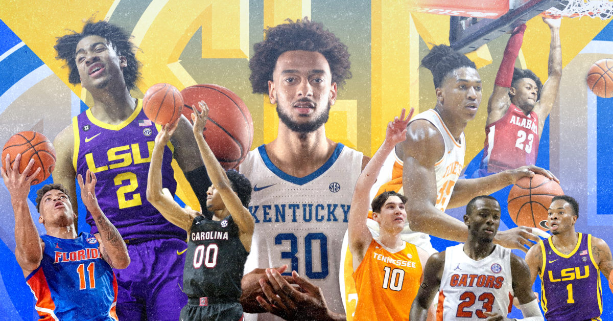 SEC Basketball Power Rankings: Tennessee's slide continues, Kentucky stuns LSU and Alabama wins again