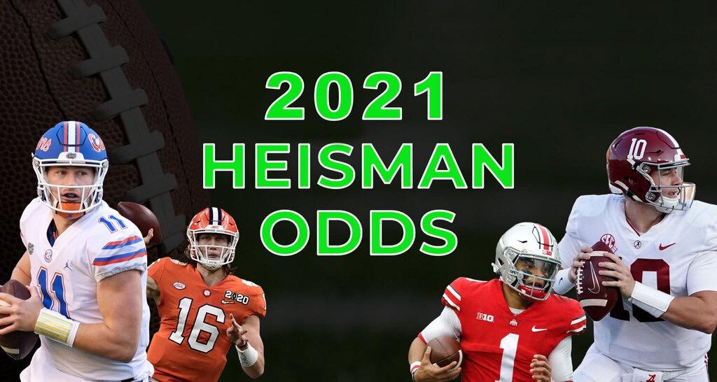 2021 heisman odds
