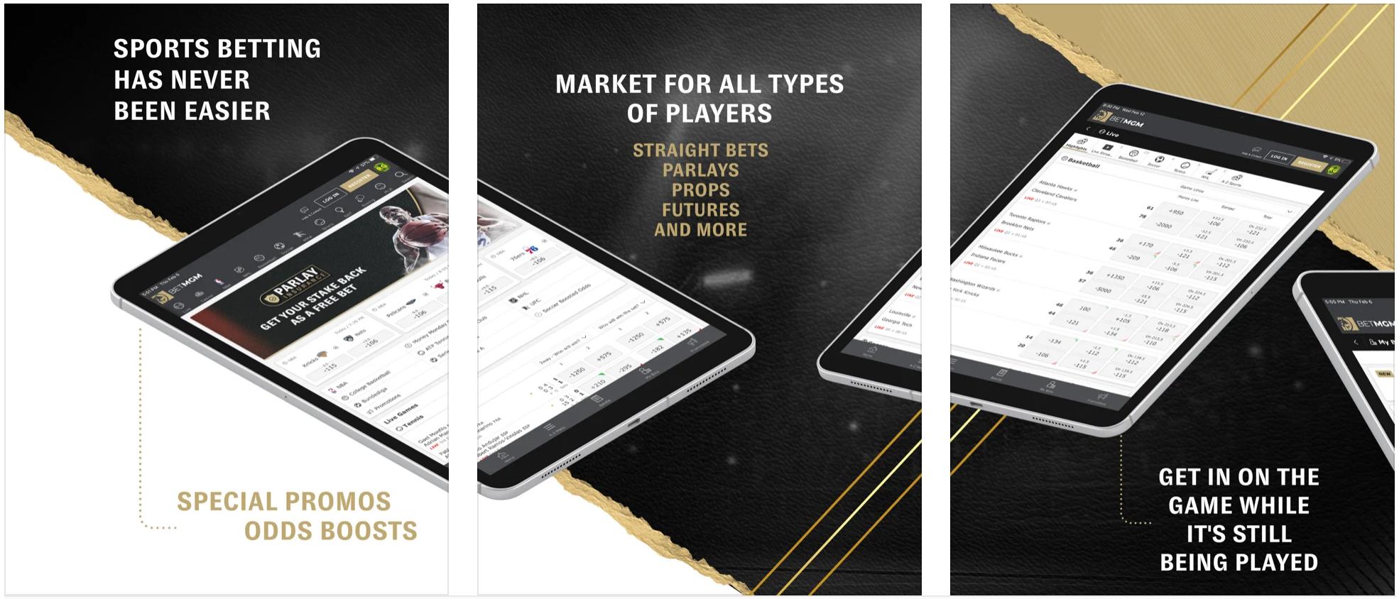 BetMGM Sportsbook Mobile App