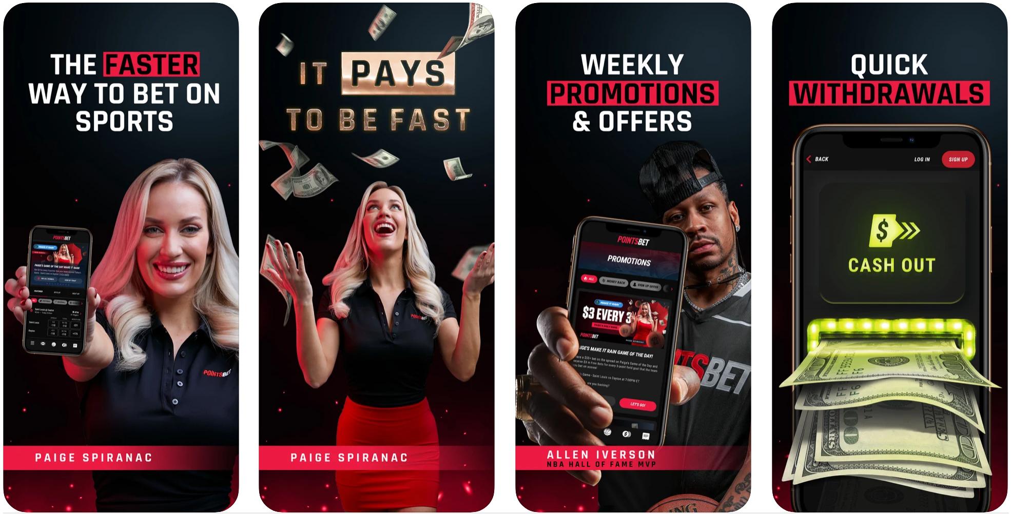 PointsBet Sportsbook Mobile App