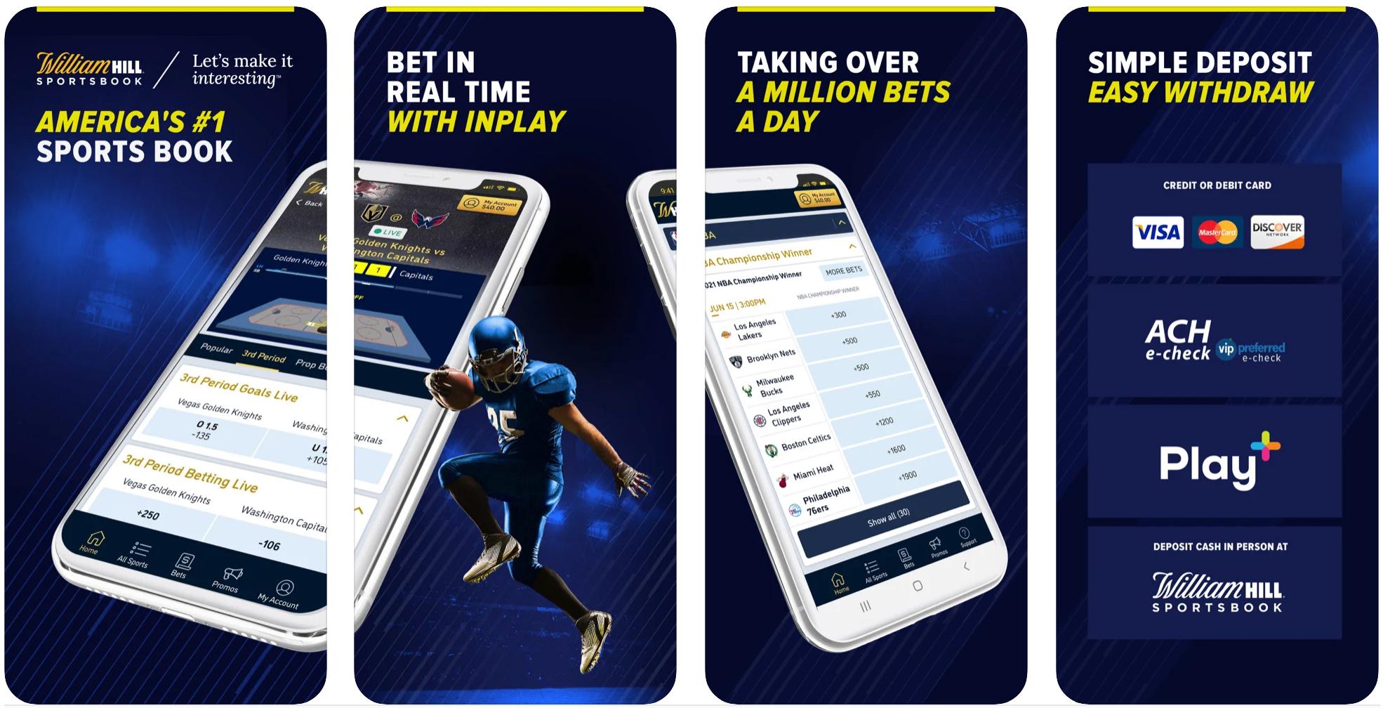 William Hill Sportsbook Mobile App