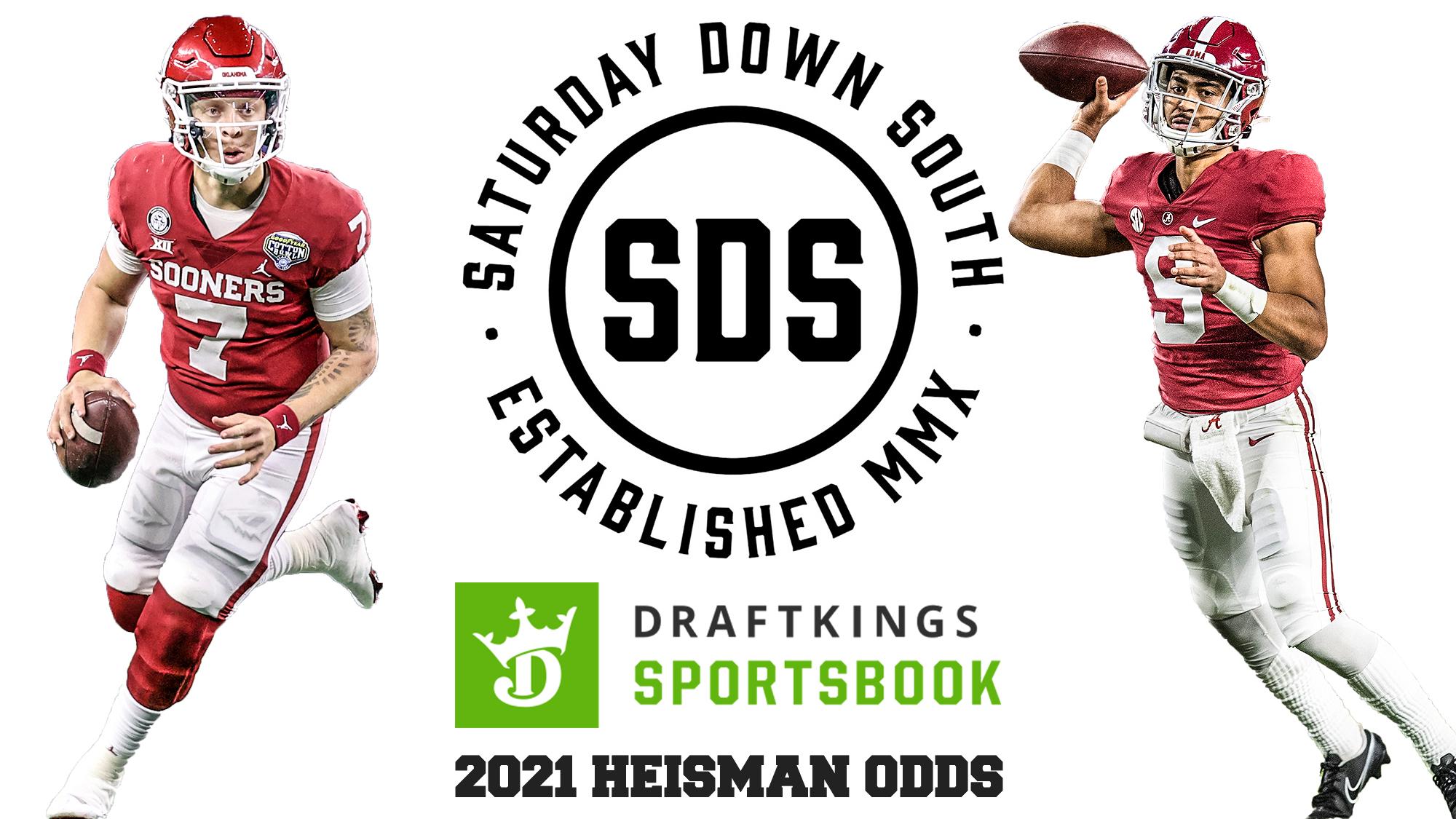 2021 Heisman Odds, Spencer Rattler, Bryce Young