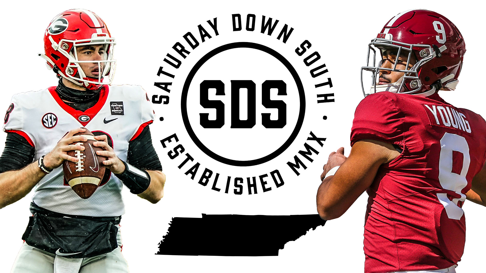 SEC Sports Betting States, JT Daniels, Bryce Young